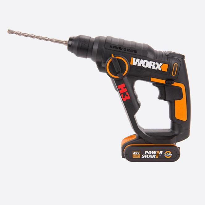 Перфоратор аккумуляторный WORX WX390.1
