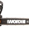 Цепная пила аккумуляторная WORX WG384E