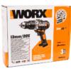 Дрель-шуруповерт ударная аккумуляторная WORX WX372.9