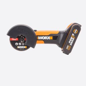 Угловая шлифмашина аккумуляторная WORX WX801