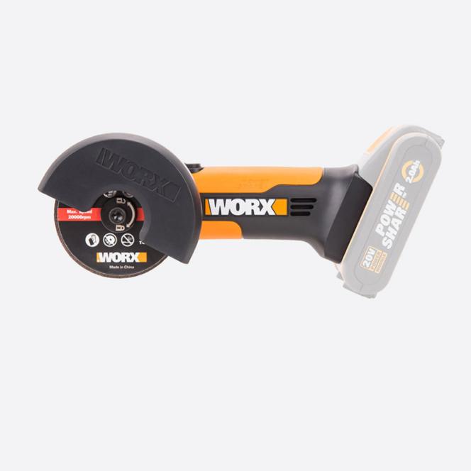 Угловая шлифмашина аккумуляторная WORX WX801.9