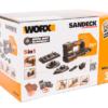 Виброшлифмашина аккумуляторная WORX WX820.9