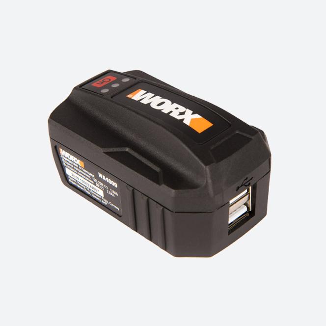 USB адаптер для аккумуляторов WORX WA40